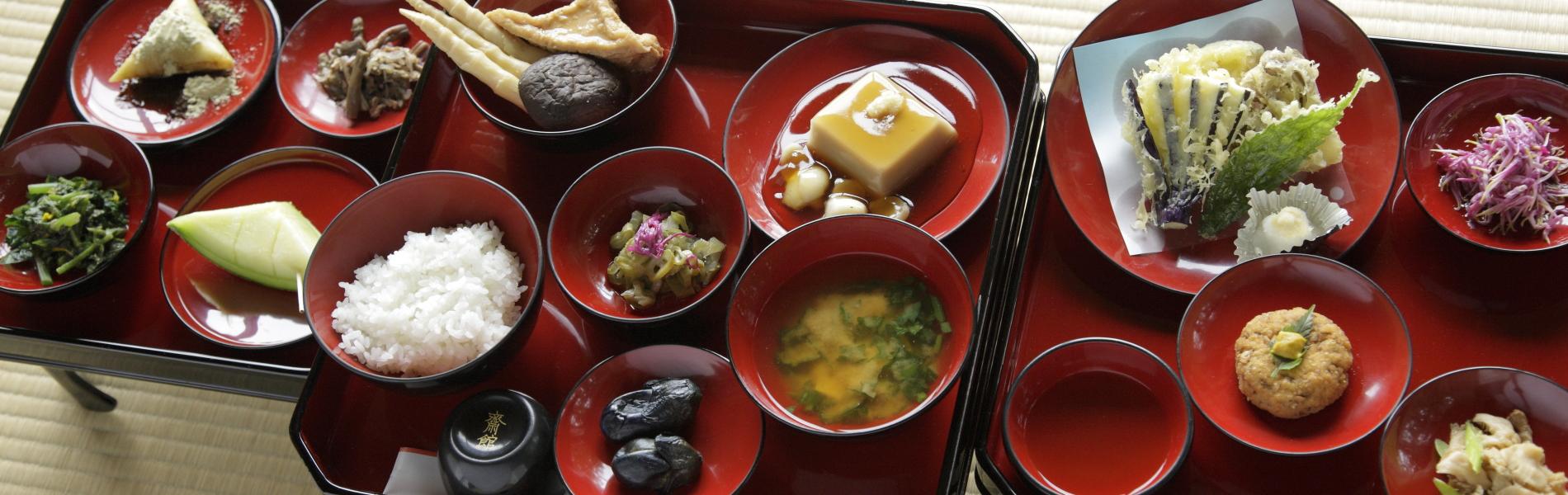 Shojin-ryori (vegetarian ascetic cuisine)